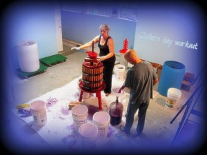 Oh Snapshots! Winemaking is a Modern Day Workout