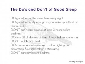 UPDATED! Facing FAcTs: The Do's and Don't of Good Sleep and Sleep Apnea