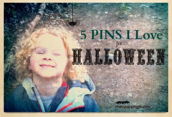 5 pins for Halloween