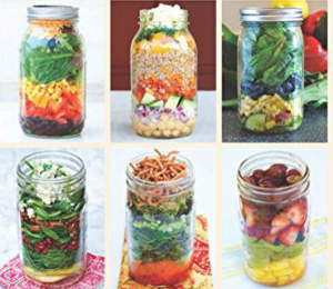 REVIEW and GIVEAWAY! Recipe Book: Mason Jar Salads and more