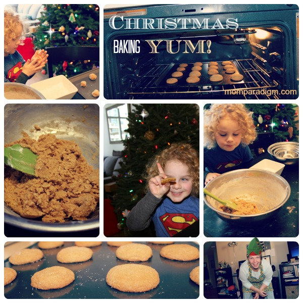 Christmas Baking collage