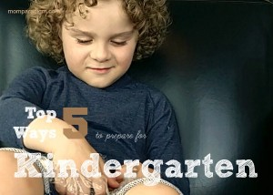 Top 5 Things to Prepare for Kindergarten