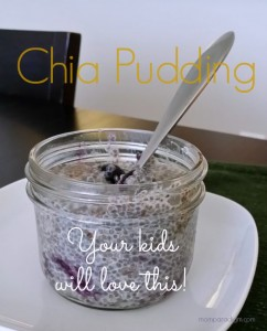 RECIPES for Kids: Chia Pudding