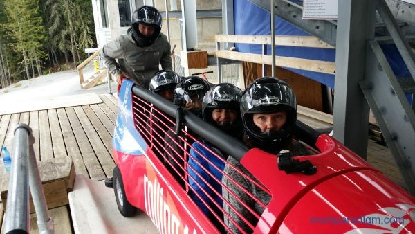 Whistler Sliding Centre Team