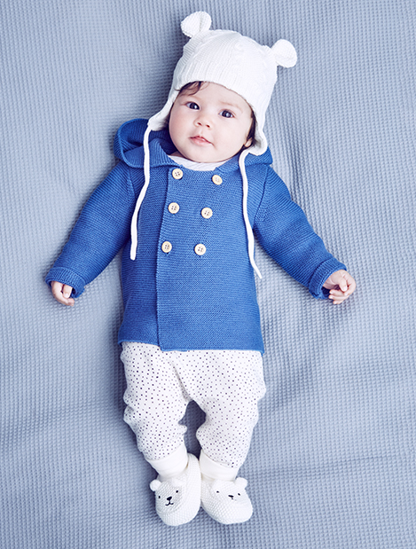 This is a cute baby model, not Timothy.